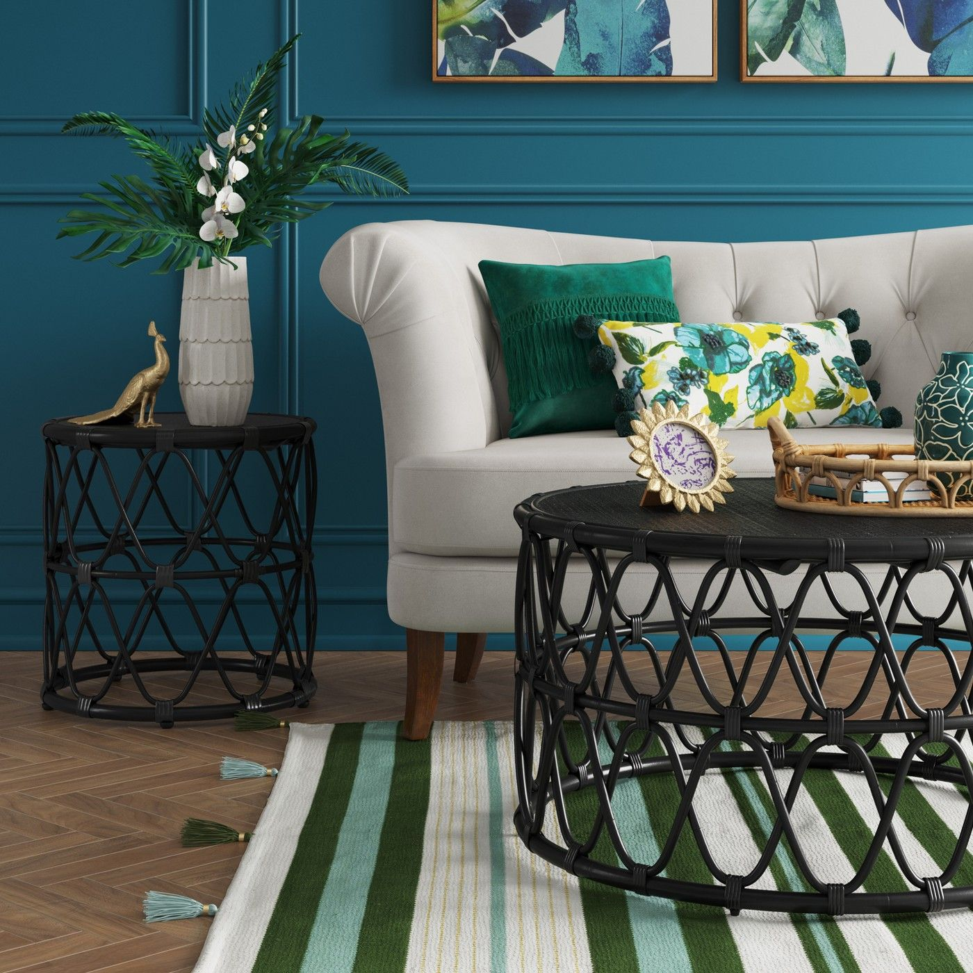 the jewel round coffee and side table set from opalhouse makes target just about effortless have cool coordinated furniture tommy bahama center diy floor lamp mosaic garden butler