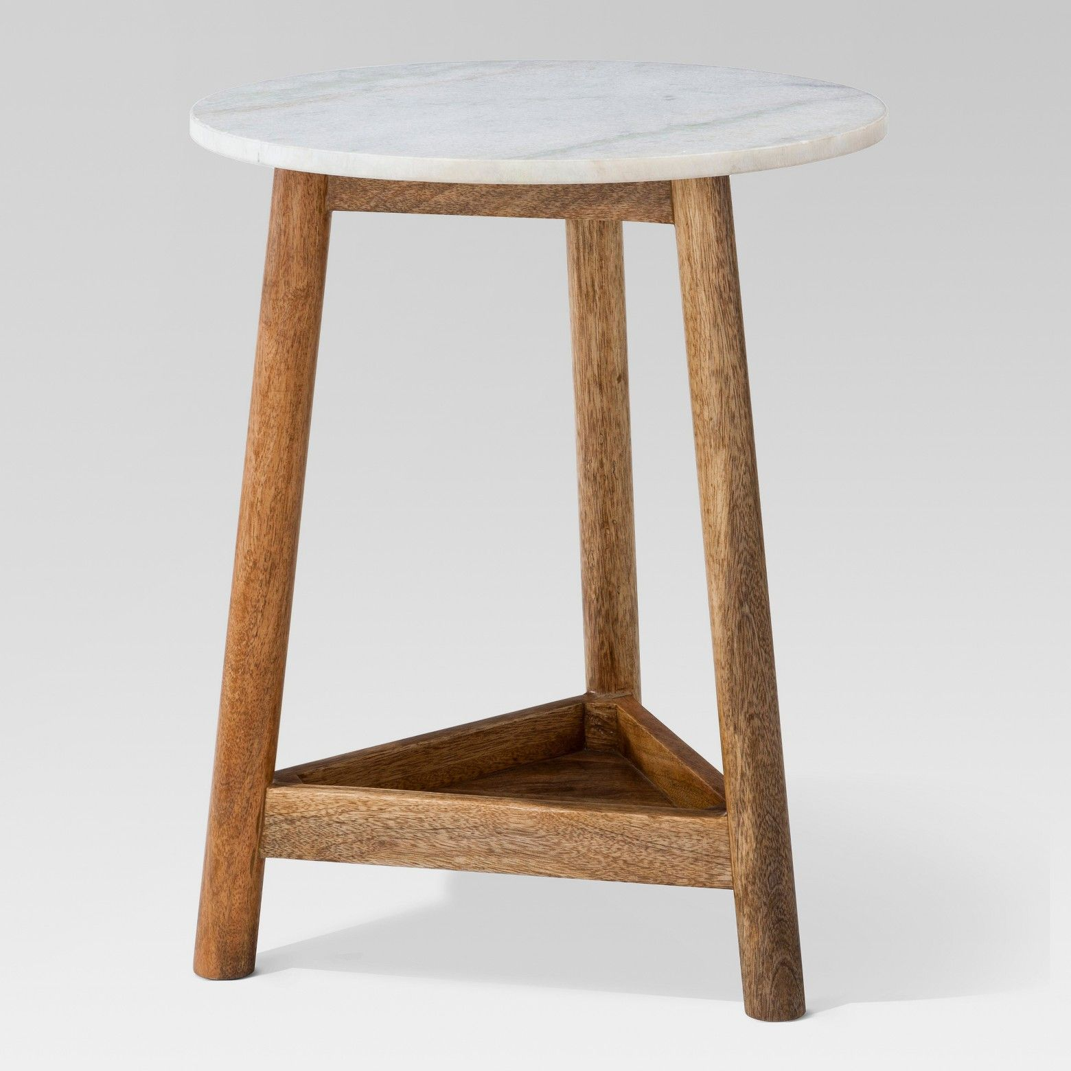 the lanham marble top side table from threshold has beautiful accent blend mango wood and instantly becoming focal point any room you place round silver tall drum throne farmhouse