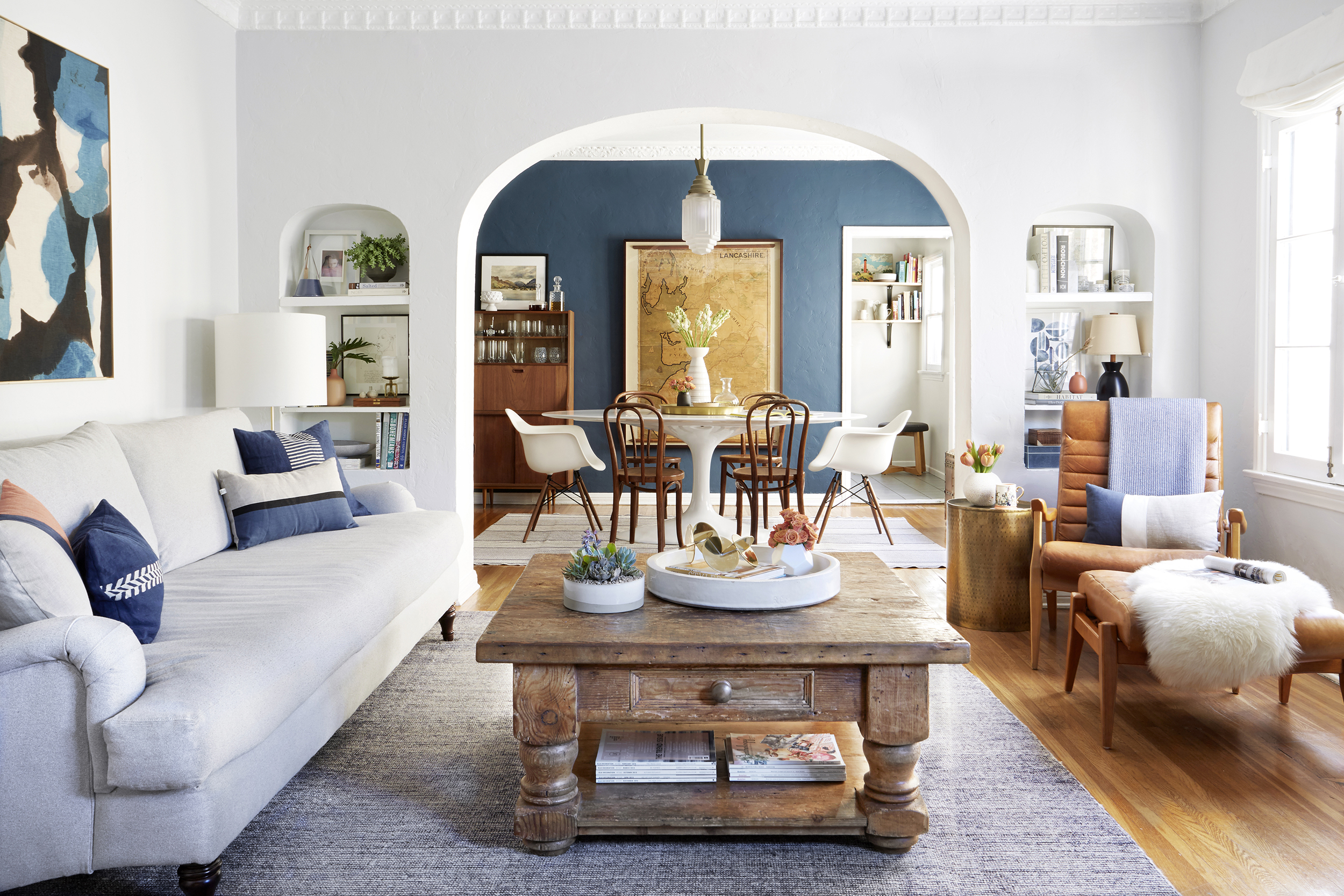 the living room rules you should know emily henderson revised accent table behind couch outdoor iron coffee accents marble target adirondack chair plans vintage ese lamps inch