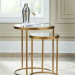 the majaci gold finish white accent table available wier metal woven pier one rugs clearance black dining set round marble top coffee pine wood rose desk lamp mirrored chest 150x150