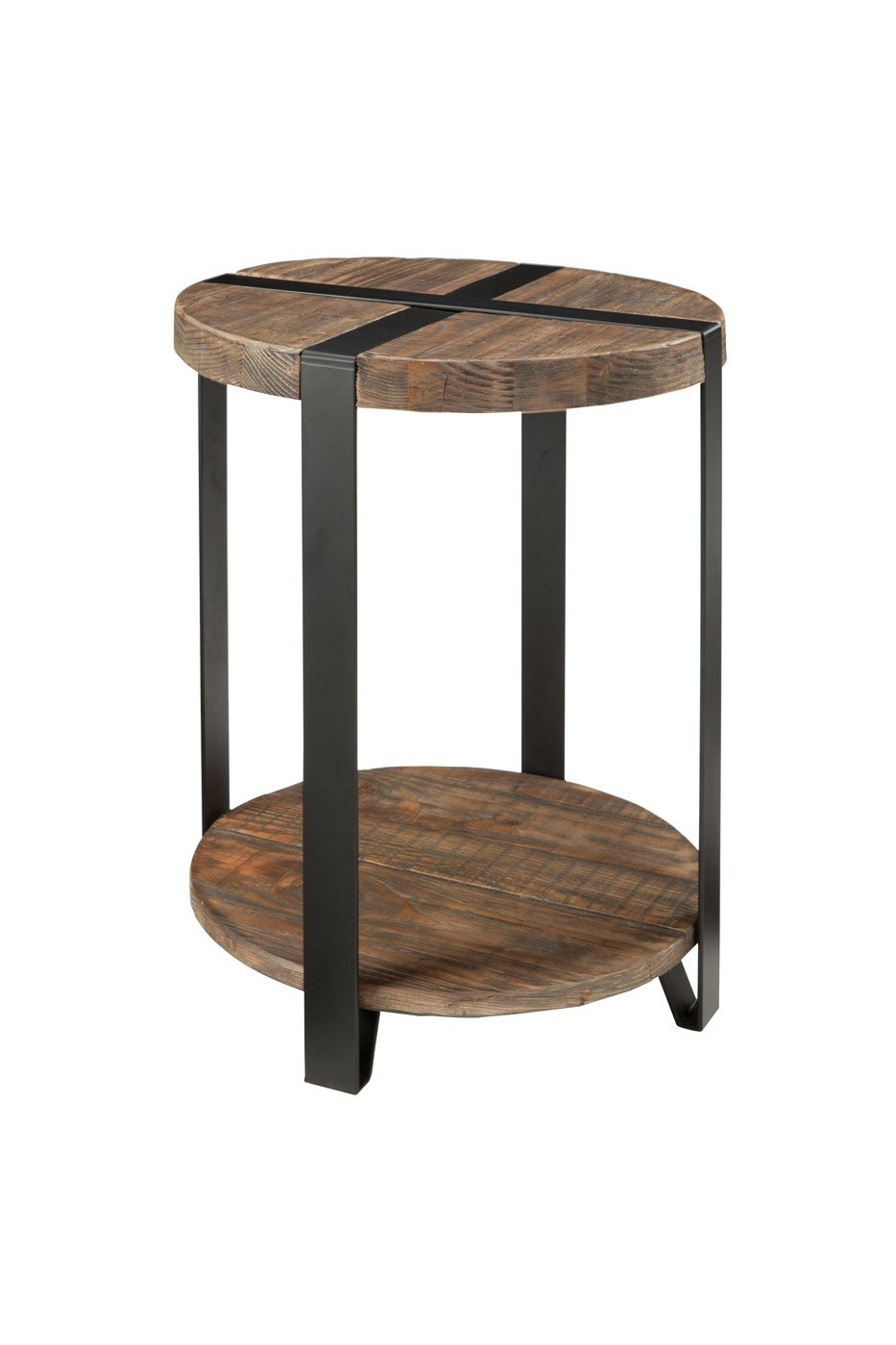 the modesto round accent table perfect for any small space this tables spaces inch diameter offers two useful levels metal bands are flush with silver end bar stool set bench seat