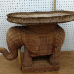the most elegant addition stunning wicker elephant tables rattan accent side table plant stand throughout intended for wish lucite home accents round coffee decor pier imports 150x150