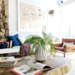 the new target fall style collection emily henderson living room preview berry modern midcentury edited cast metal accent table nate berkus turquoise coffee pottery barn counter 150x150