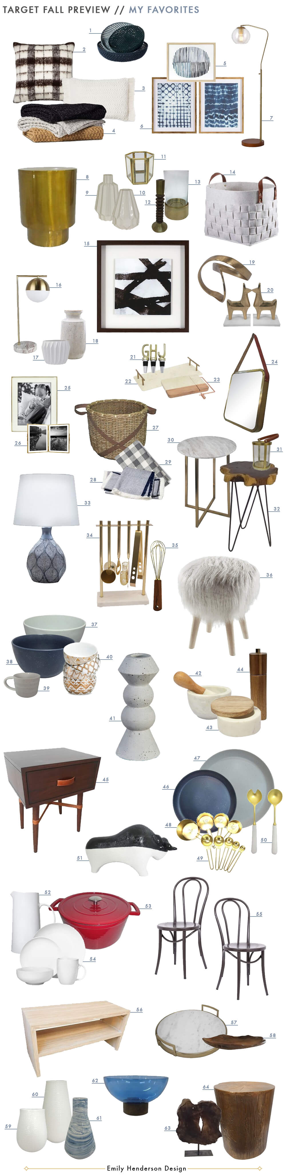 the new target fall style collection emily henderson preview emilys favorites get look threshold nate berkus home decor cast metal accent table small battery operated lamps ikea