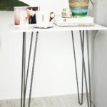 the one step marble side table kristi murphy diy blog pink accent round glass dining and chairs tall metal end legs for coffee decorative storage cabinets sofa with rugs outdoor 150x150