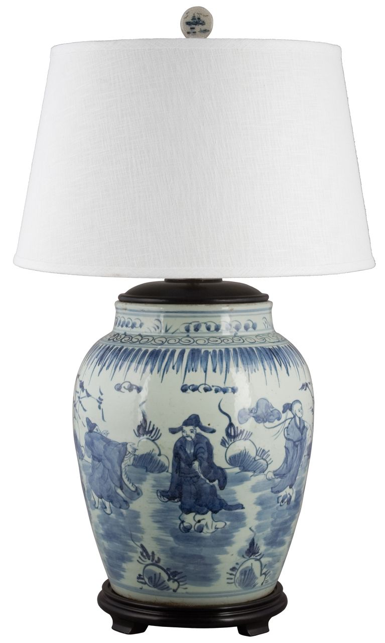 the oriental danny blue white classic porcelain lamp will make accent table lamps wonderful piece living room bedroom any traditional asian themed round console with storage