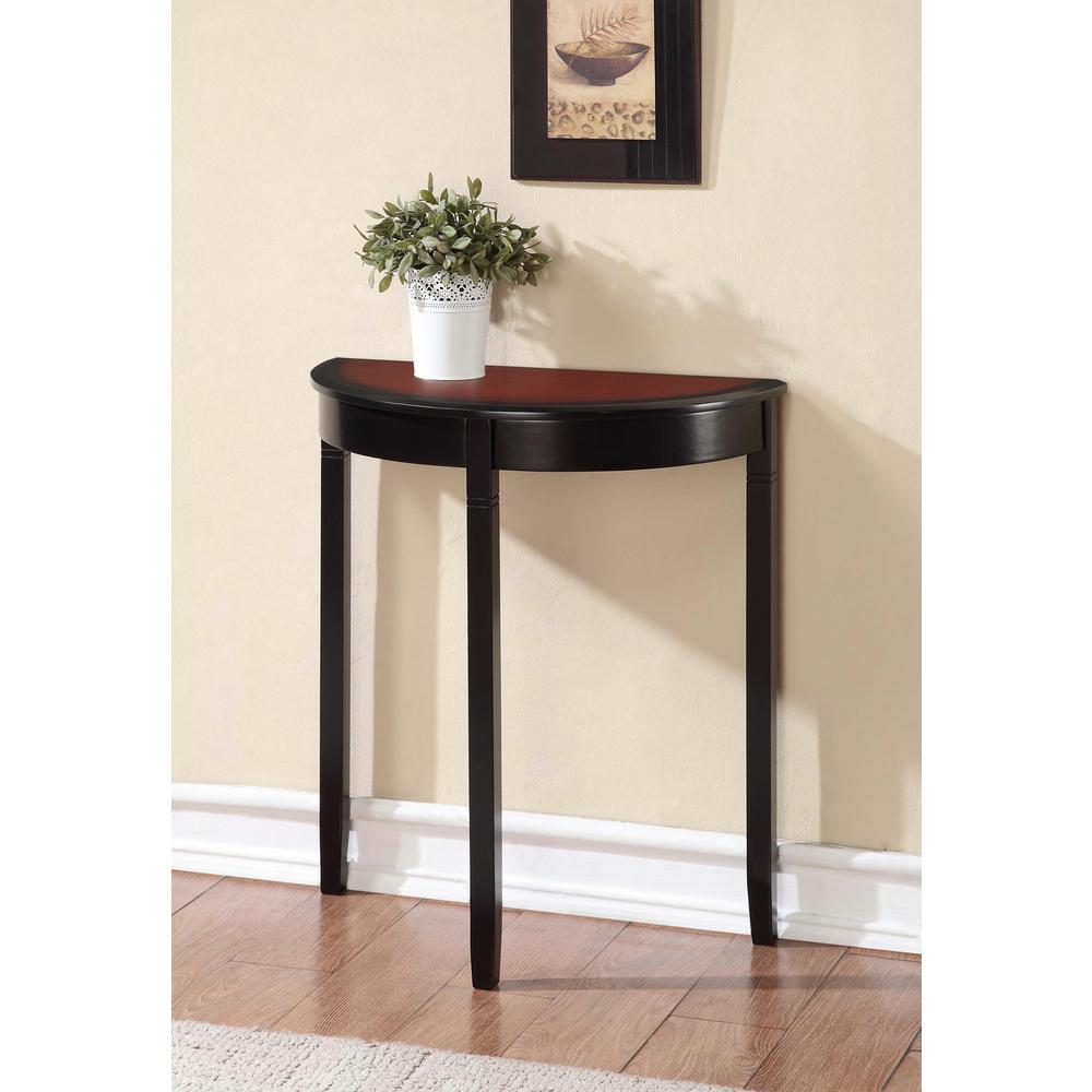 the outrageous amazing narrow cherry end table mira road linon home decor accent tables living room furniture black console camden dog plans sectionals calgary trunk restoration