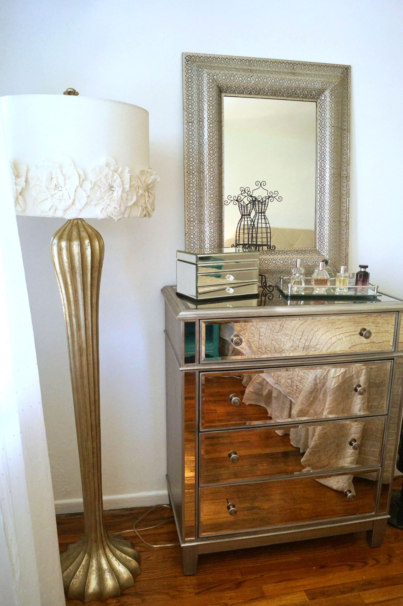 the outrageous cool mirrored nightstand from target ideas hotxpress friendly hayworth furniture silver rectangle wall mounted mirrord with drawer design modern dresser mirror
