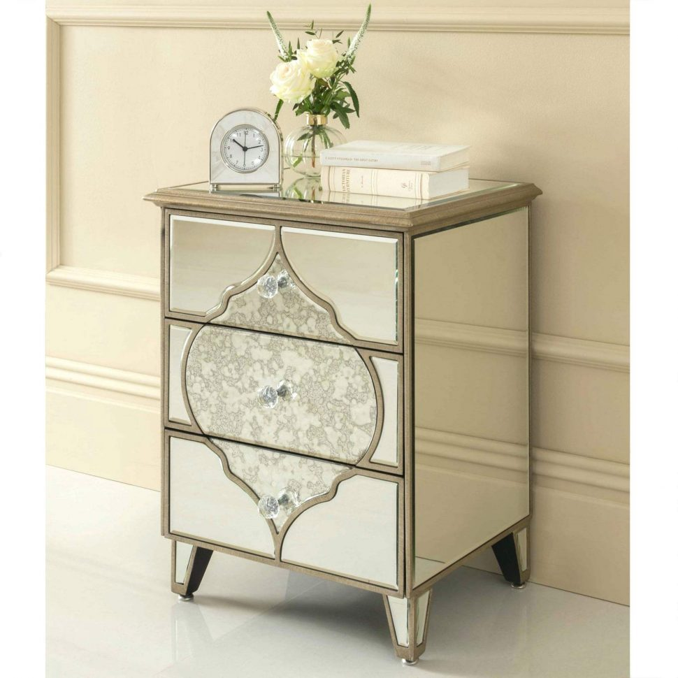 the outrageous cool mirrored nightstand from target ideas hotxpress furniture accent table drawer house decorations marvellous end dresser stand vanity cabinet chest drawers diy