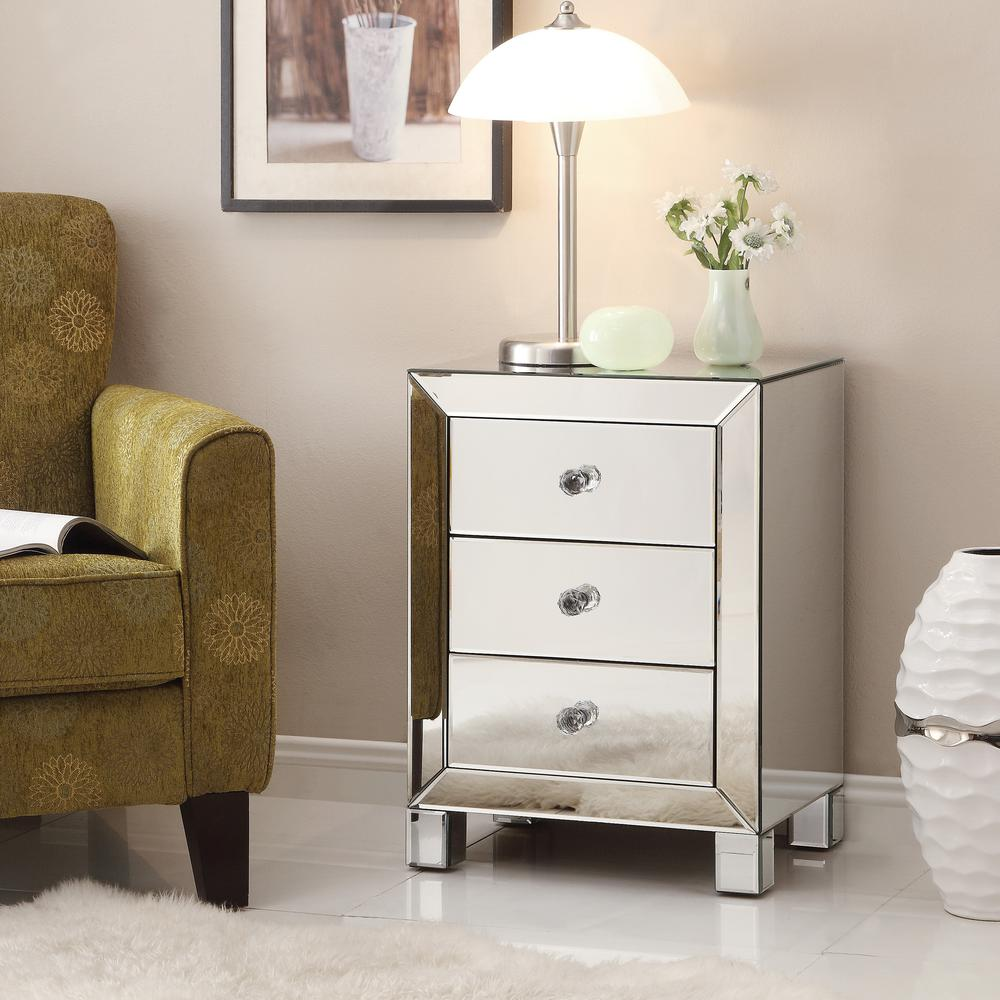 the outrageous cool mirrored nightstand from target ideas hotxpress furniture end surprising living room magnificent table console gold chest cabinet drawers stand vanity set ave