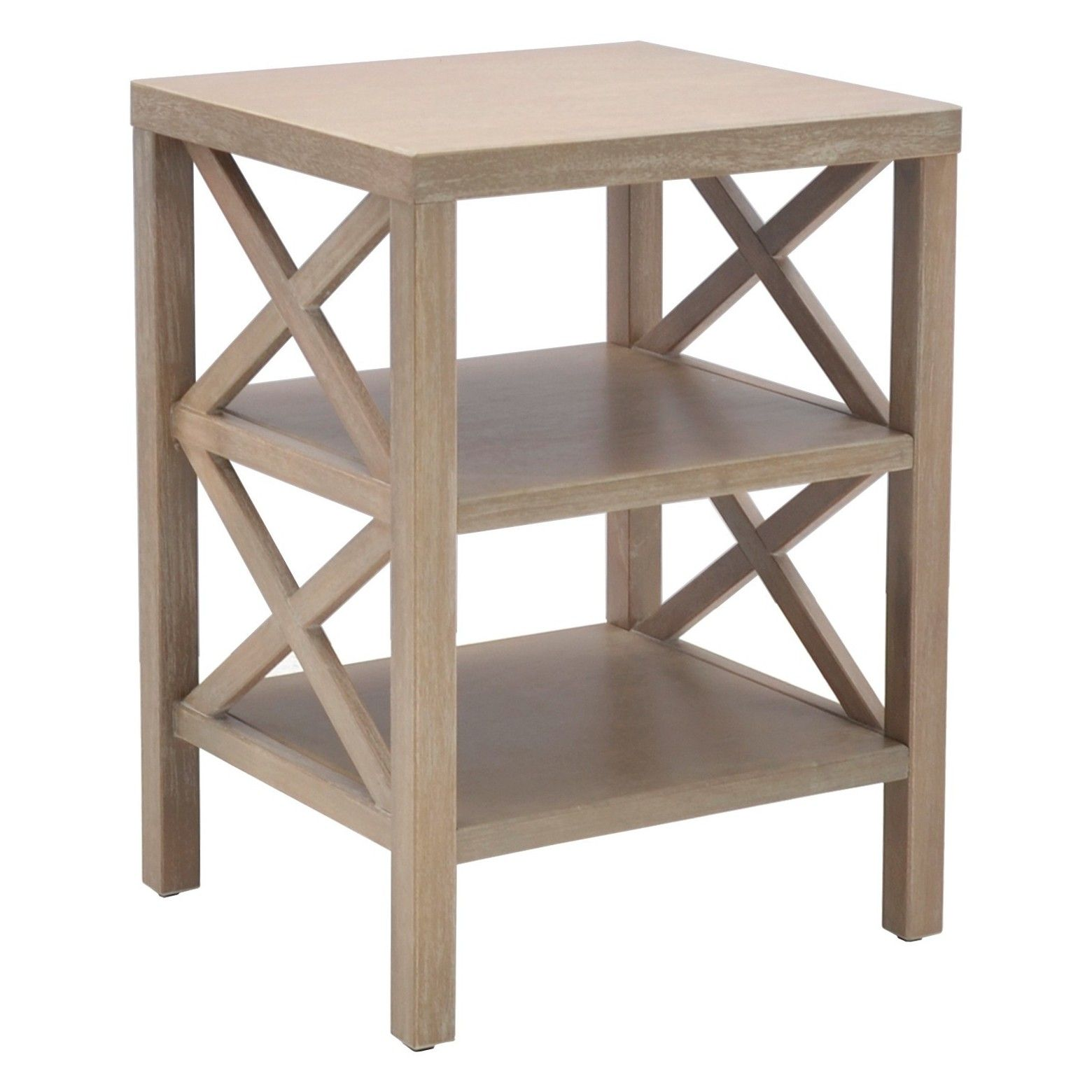 the owings end table with shelves from threshold has accent target peekaboo room essentials white tile floor long narrow desk antique coffee set drum seat distressed blue console