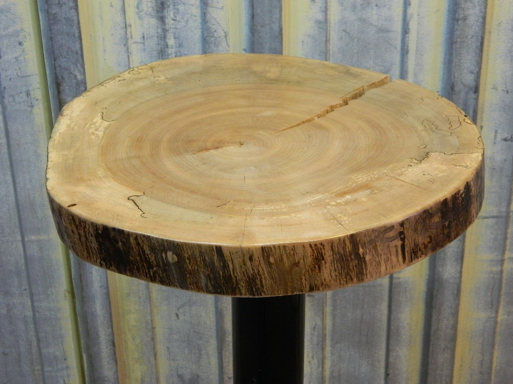 the perfect free wood log end table mira road maple top serving platter slice slab live finished round hillsdale furniture white glass coffee danish modern dining patio stackable