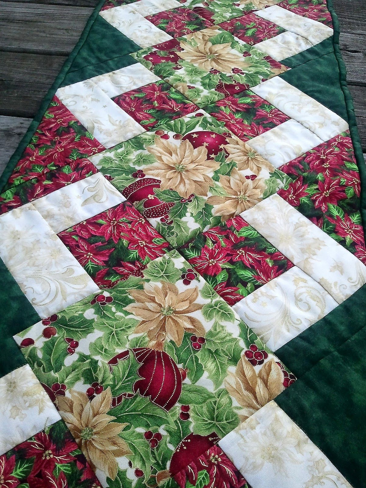 the recipe bunny christmas table runner and tutorial quilting accent your focus free pattern big deck umbrella large entryway screw furniture legs acrylic coffee base antique