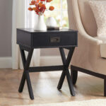 the super fun black side table with drawer ture mira road better homes gardens leg accent multiple colors orange outdoor wicker furniture clearance concrete top coffee christmas 150x150