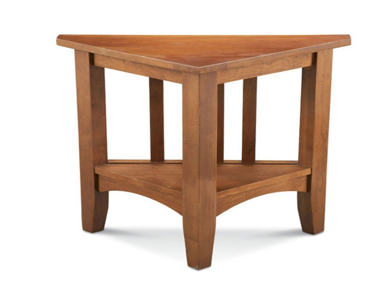 the super triangle shaped end table jockboymusic dining room accent tables bar height home zone furniture wood small block chevy single turbo kit pomona rustic natural unfinished
