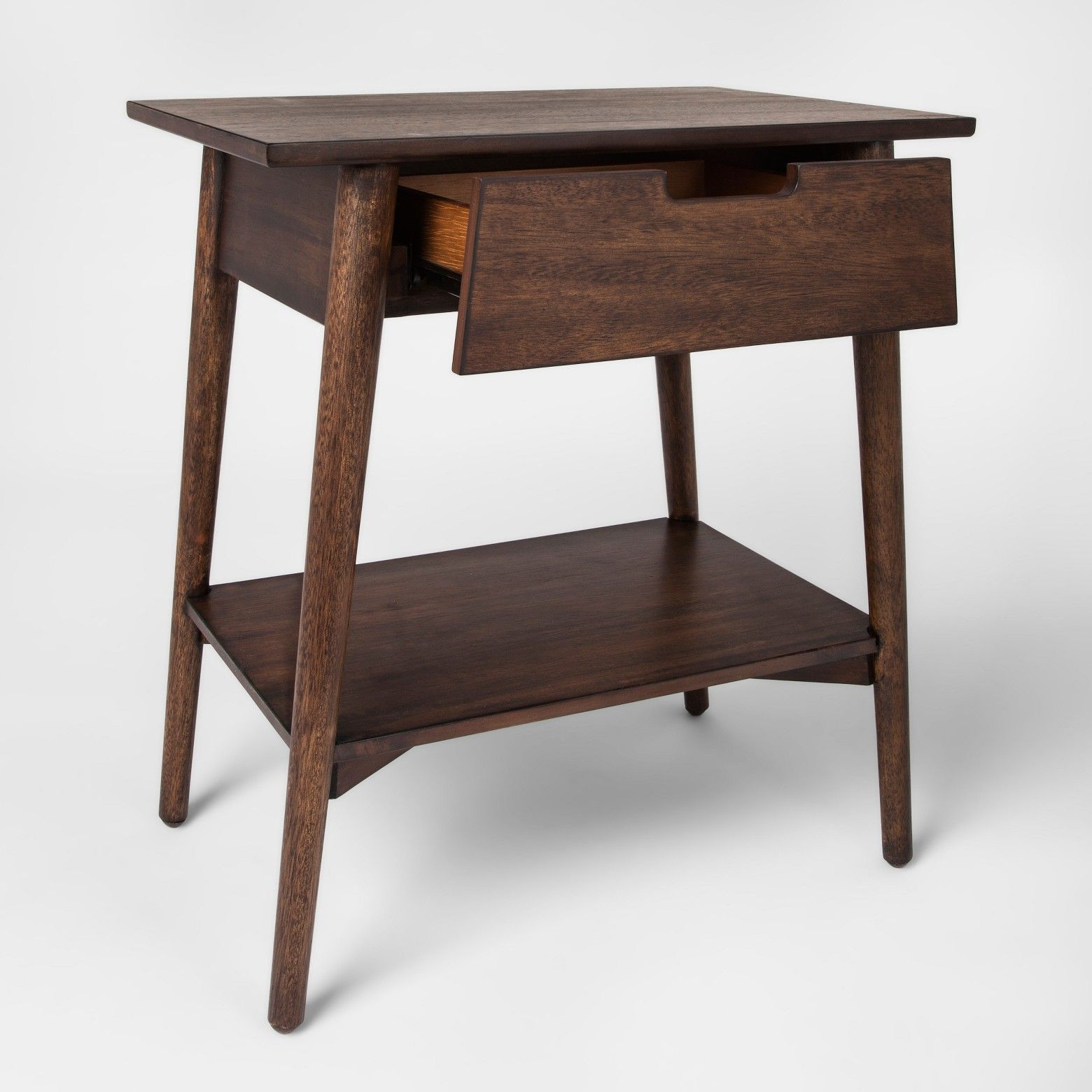 the terrific awesome berwyn end table metal and wood rustic brown walnut one drawer accent project furniture threshold convertible small pine bookcase round linen tablecloths