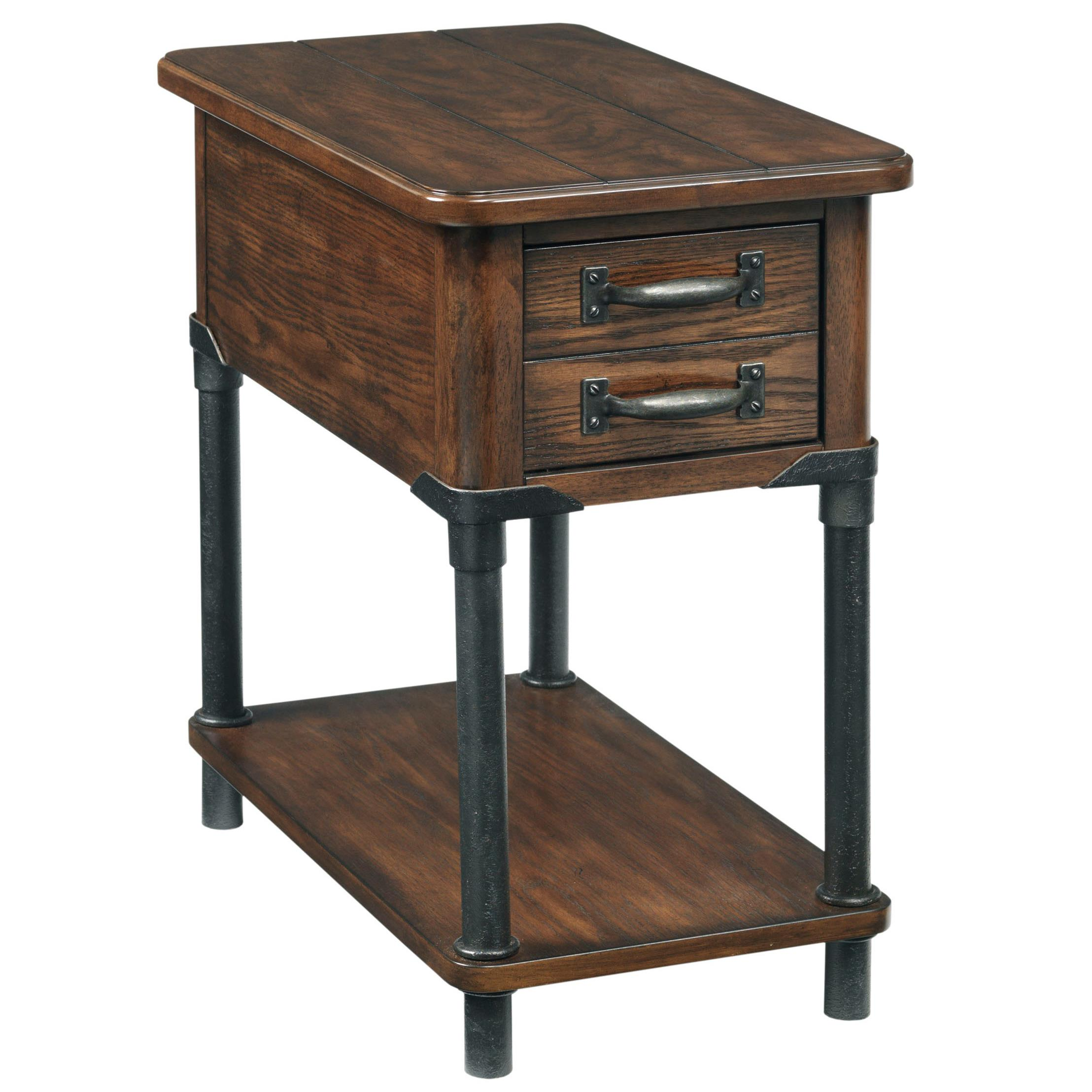 the terrific awesome broyhill end table with power ture mira road furniture saluda accent shelf wayside products color item number clock vintage walnut concrete outdoor ethan