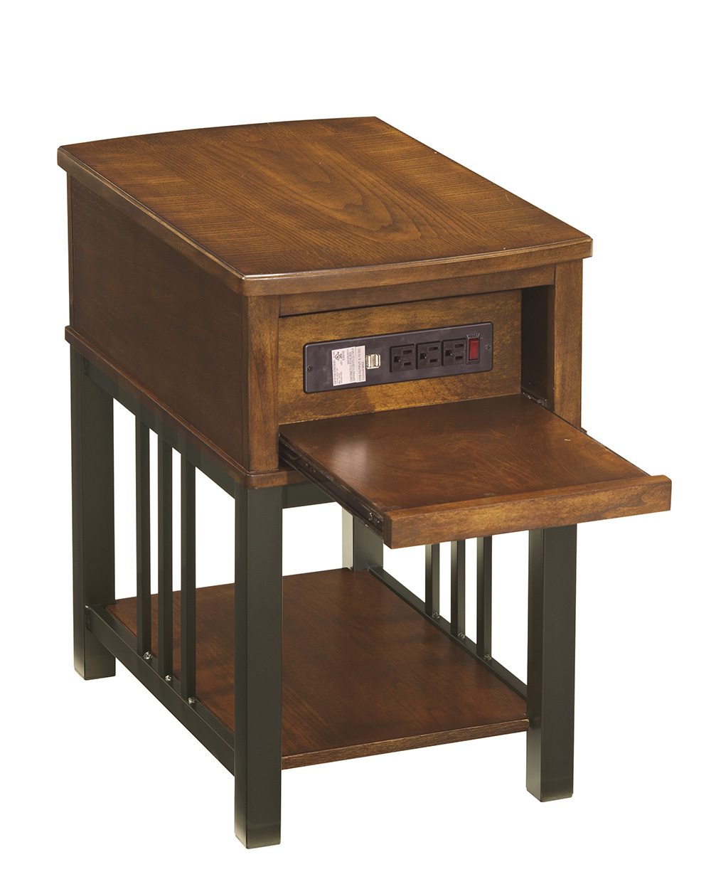 the terrific beautiful end table with built power strip city liquidators furniture home ashley jaysteen side broyhill usb round dining and chairs coastal tables drum modern nest