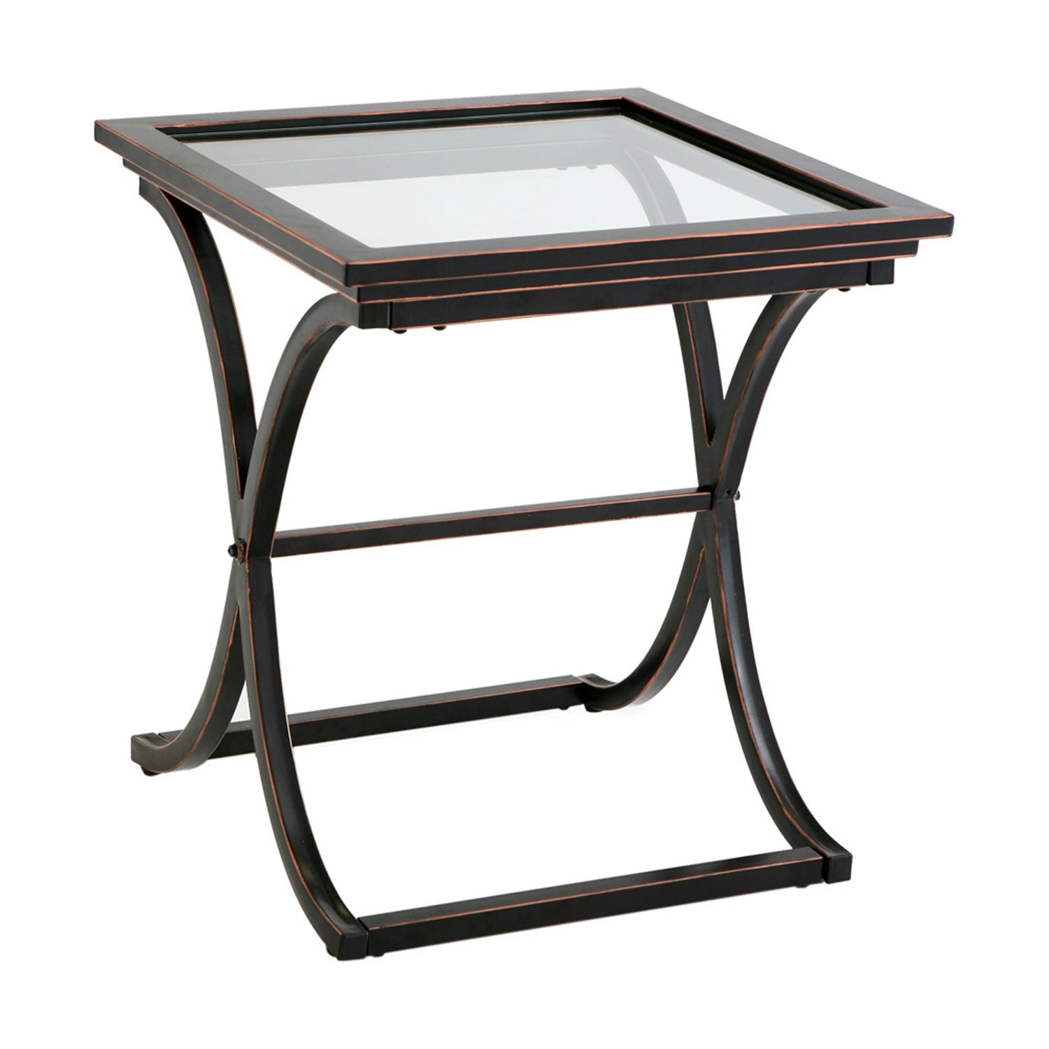 the terrific great black glass end side table mira road southern enterprises vogue with view larger rustic pine babcock home furniture octagon shaped ashley canopy square gold