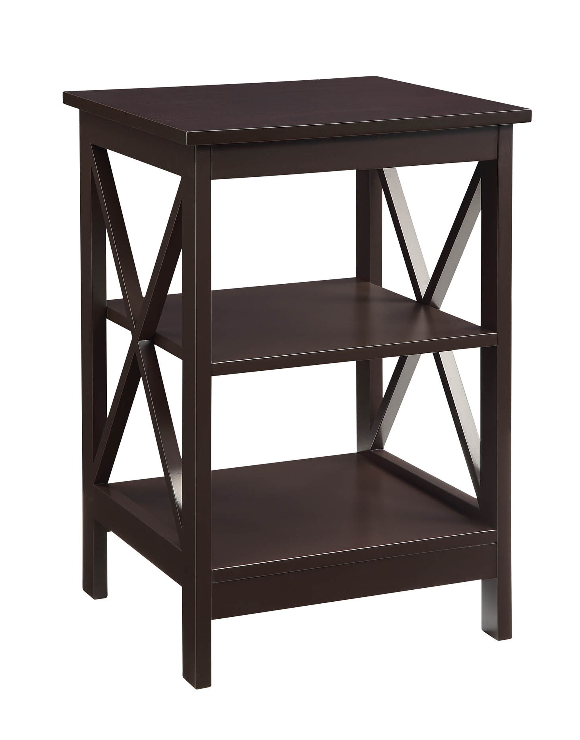 the threshold owings collection side table espresso perfect accent addition any homes decor high and includes drawer coastal style lighting hardwood floor patio dining white drum