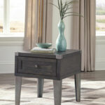 the todoe dark gray rectangular end table available global accent tables with charging station oversized coffee black metal side extra thin console champagne mirrored furniture 150x150