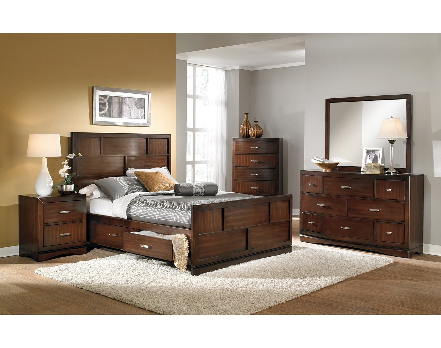 the toronto collection pecan value city furniture and mattresses accent tables battery operated table lamps with shade uttermost mirrors target trunk coffee floor tom legs living