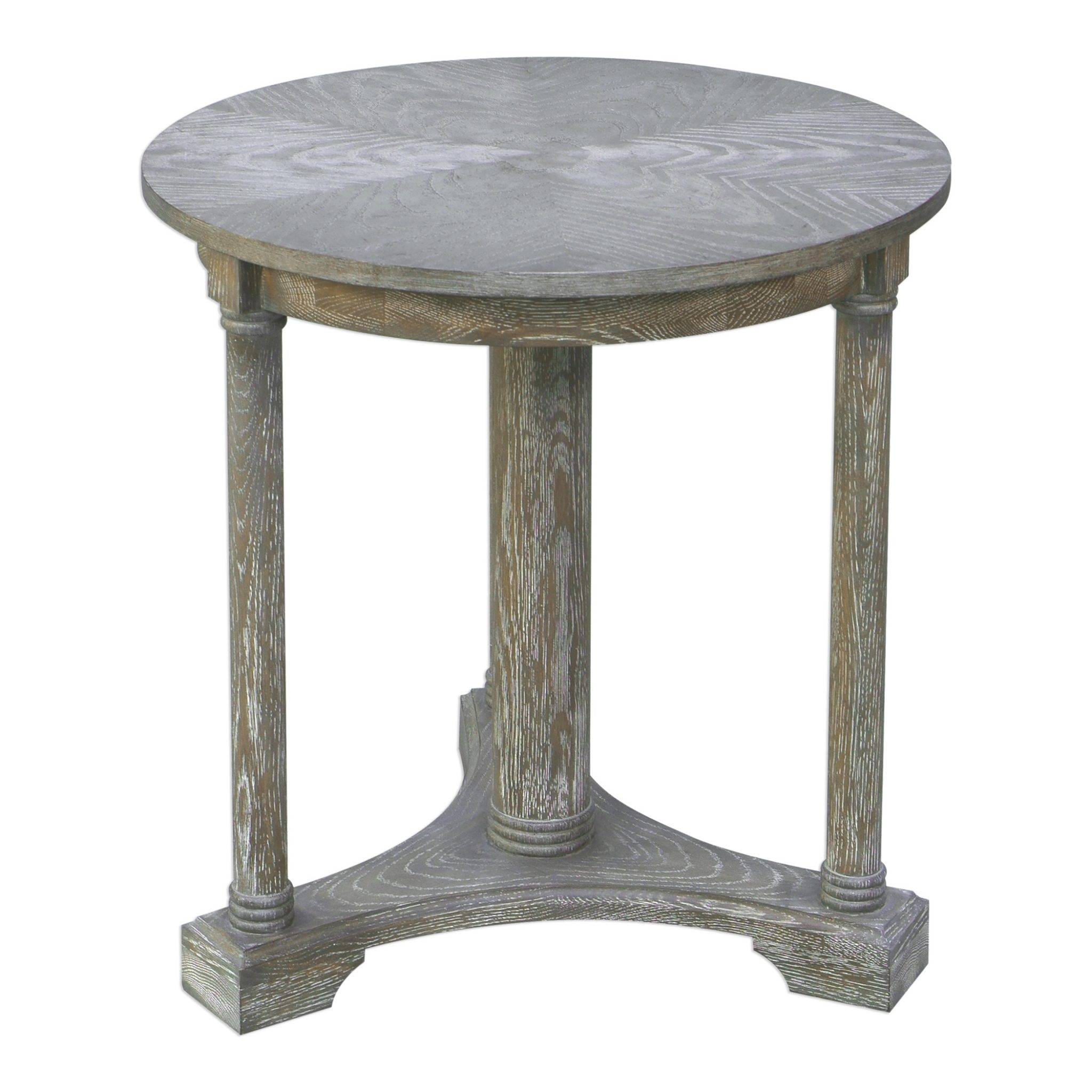 thema weathered gray accent table furn small round kitchen and chairs set wooden dining room square glass patio nautical decor lamps clear end honey oak tables dorm gifts
