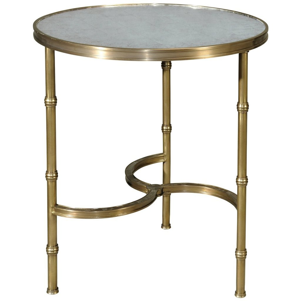 theodore alexander eglomise accent table brass all around stephanie cohen home high pub and chairs york furniture wesley allen room essentials comforter nautical bedroom target