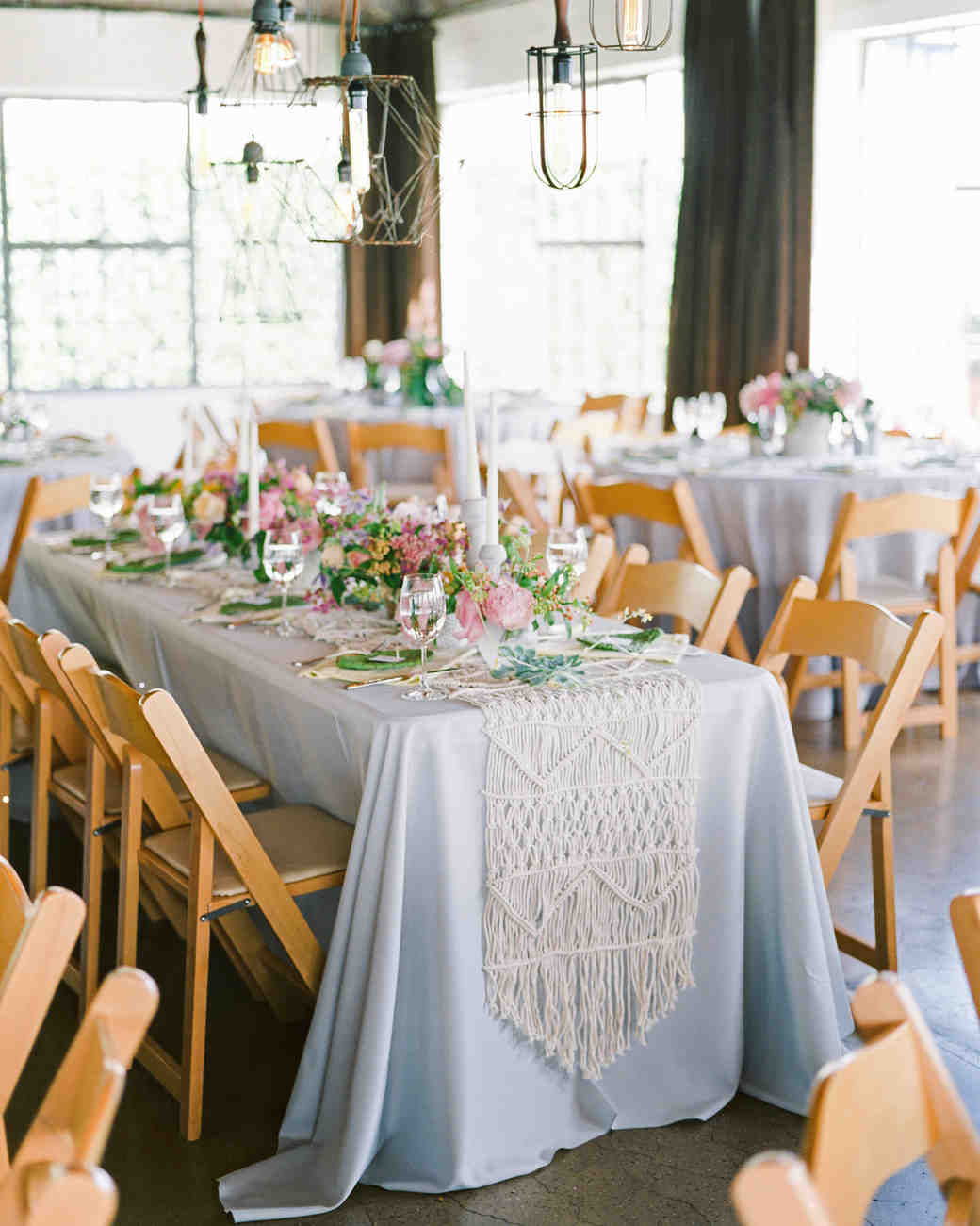 these statement linens will take your wedding reception the next ben vert artistic accents tablecloth tables united furniture calgary ashley coffee table set glass patio end