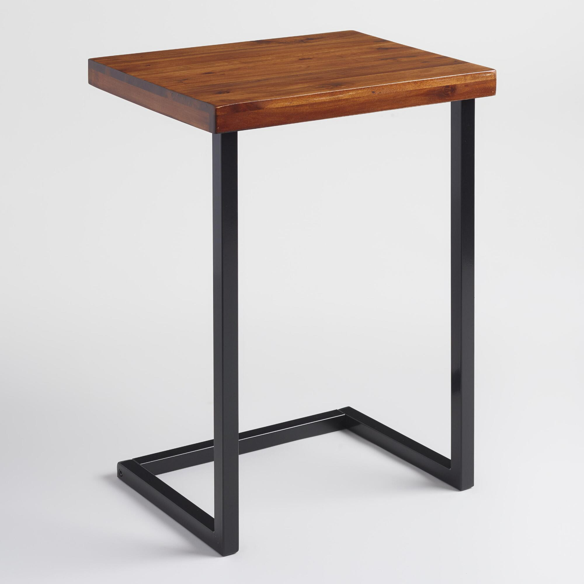 thin end table narrow nightstand ideas pottery barn antique nightstands small accent shaped faux bamboo tables plant quilted runner modern metal and glass coffee west elm storage