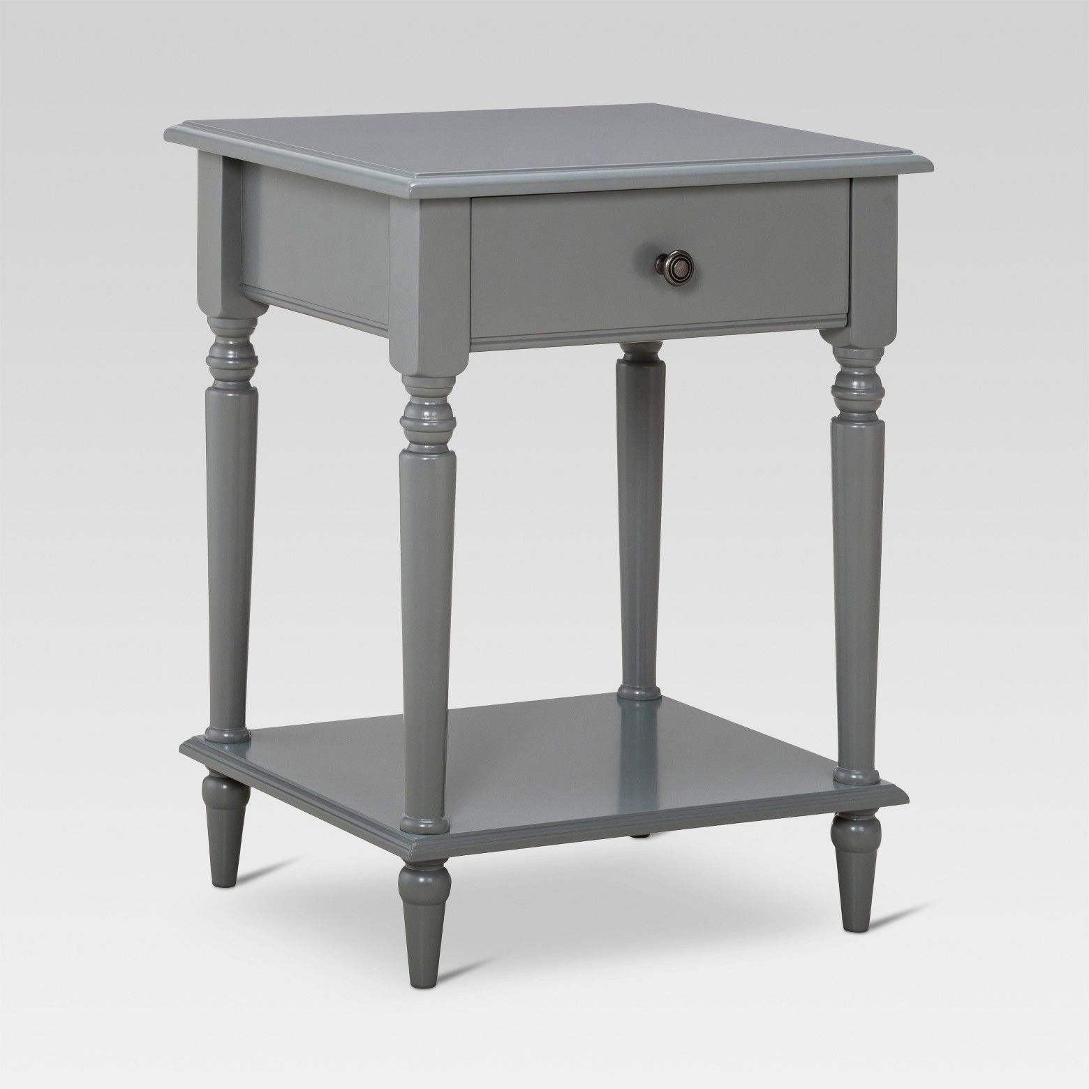 this ever charming turned leg accent table from threshold margate effortlessly blends contemporary cool with classic accents piece furniture features sofa matching end tables