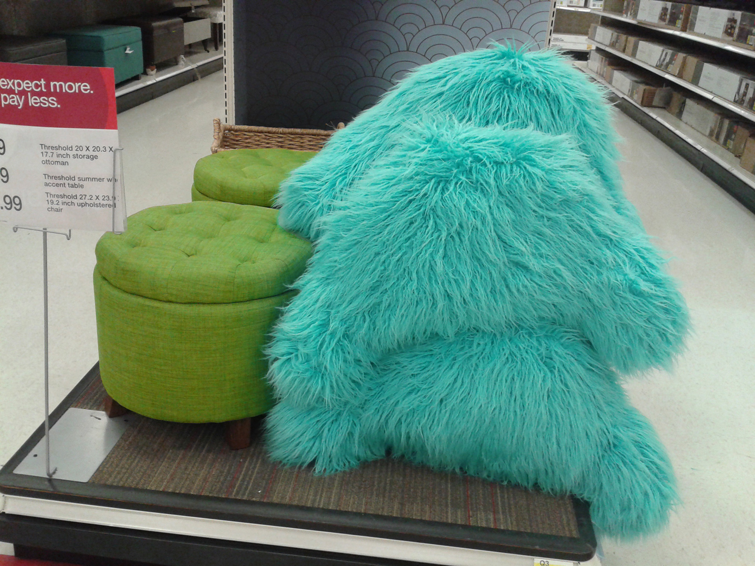 this furniture from target looks just like mike and sully tceuzjr threshold accent table monsters inc marble top coffee industrial metal bedside pier rose gold pottery barn black