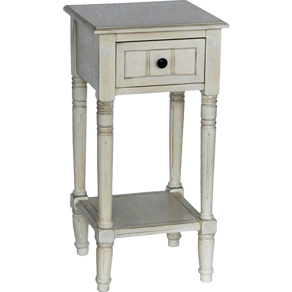 this vintage shabby chic inspired simplify accent table with small square one drawer ping the best coffee sofa end tables furniture dining target fretwork huge outdoor umbrella