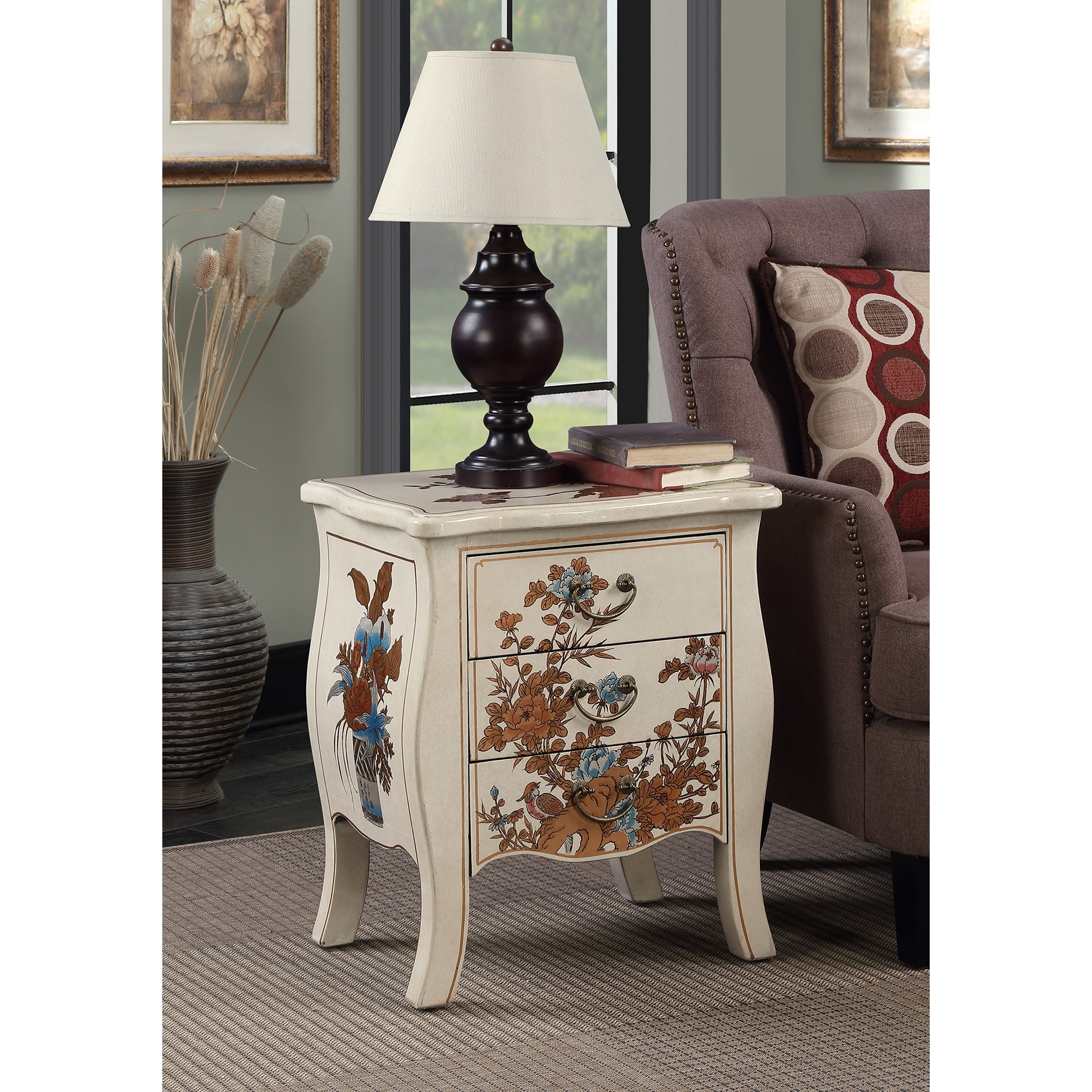 three drawer end table design ideas cnc resize hafley accent target convenience concepts touch asia white farmhouse extension dining globe lampshade small bedside lamps ceramic