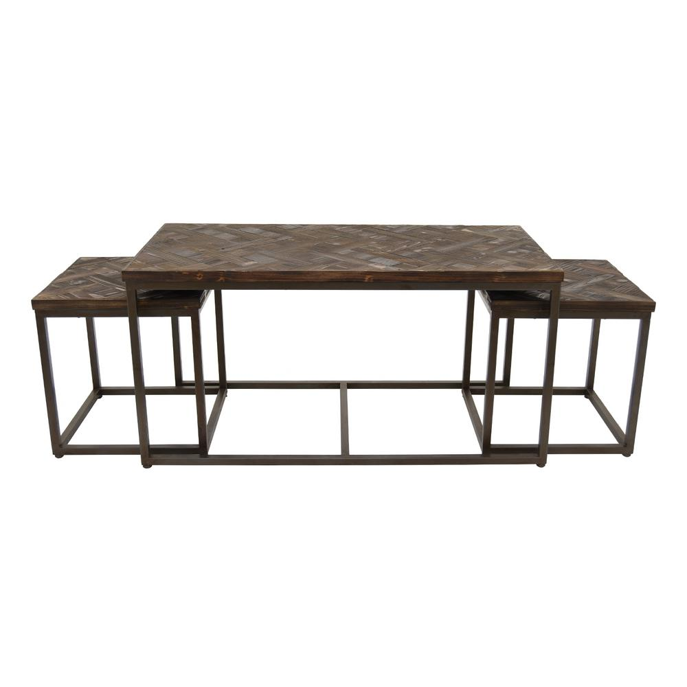 three hands black wood metal accent table set coffee tables target dressers pottery barn griffin hobby lobby garage threshold seal outdoor dining cover yellow side cocktail dog