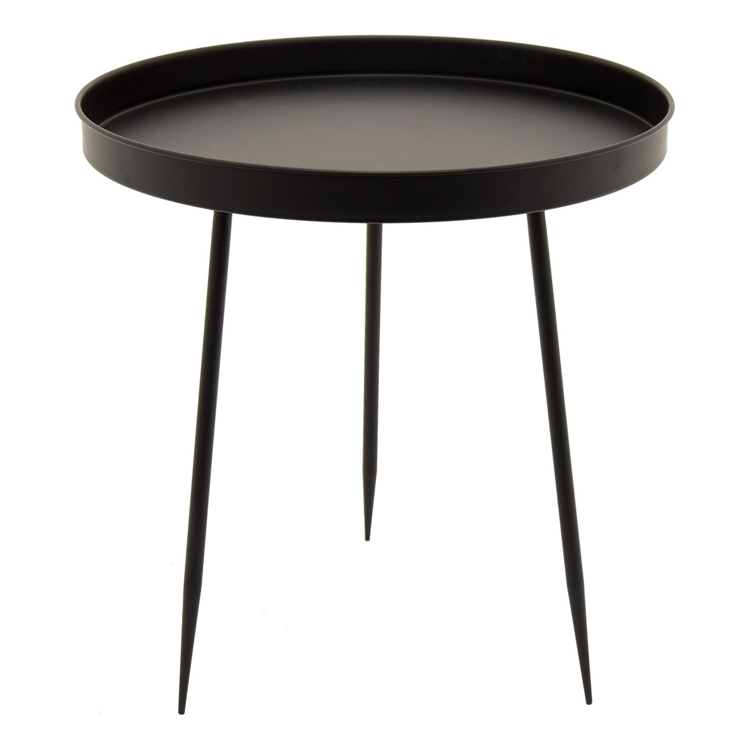 three hands decorative black metal accent table free shipping today support leg frog drum transition floor trim tray end plastic wicker side silver lamps asian style narrow