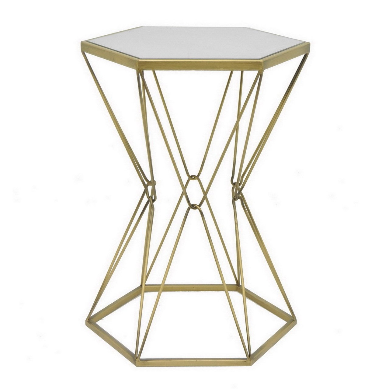 three hands goldtone metal mirror accent table free shipping with today safavieh treasures extra long shower curtain target hobby lobby decorations high top pub and chairs modern