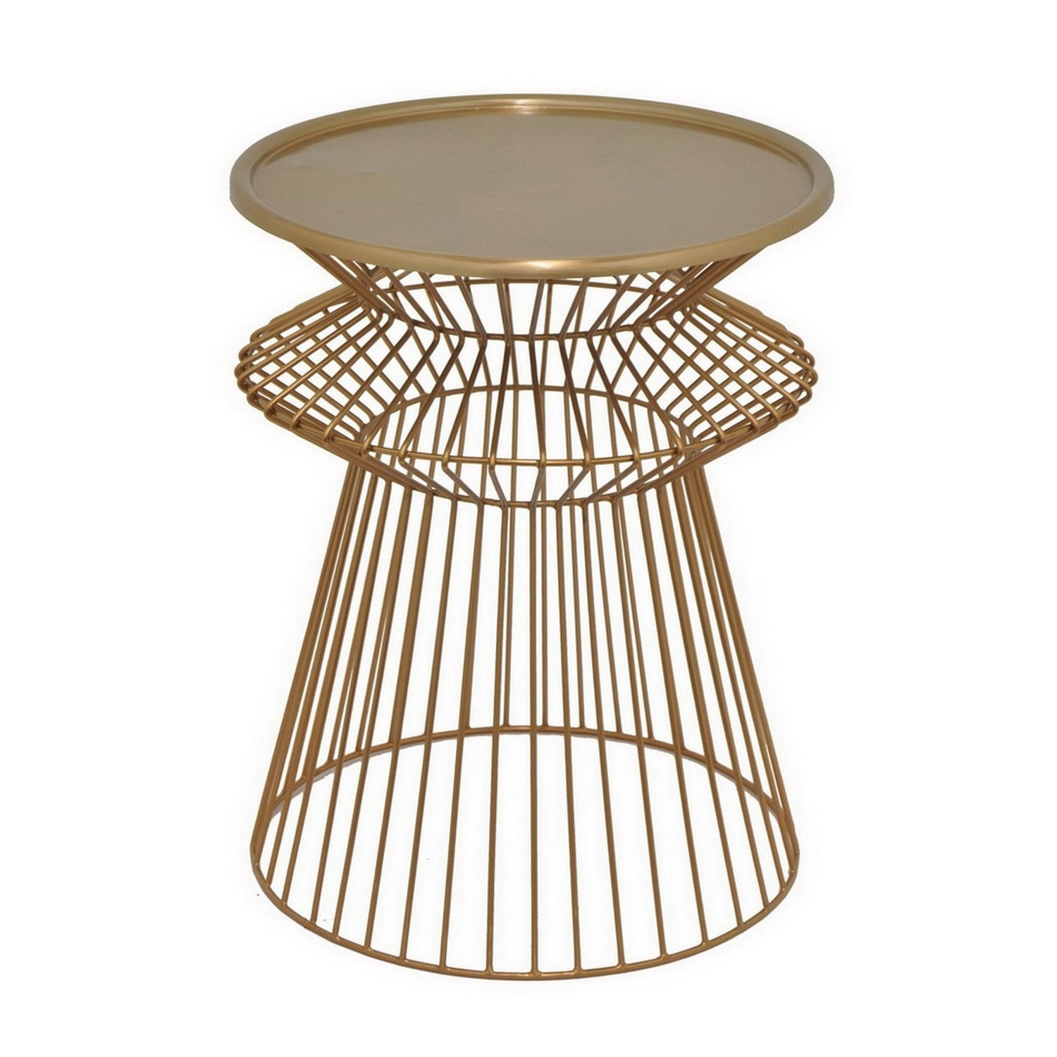 three hands round metal accent table bronze free shipping tables today homesense bar stools pink side square marble top end transition strips for tile hooker pottery barn legs