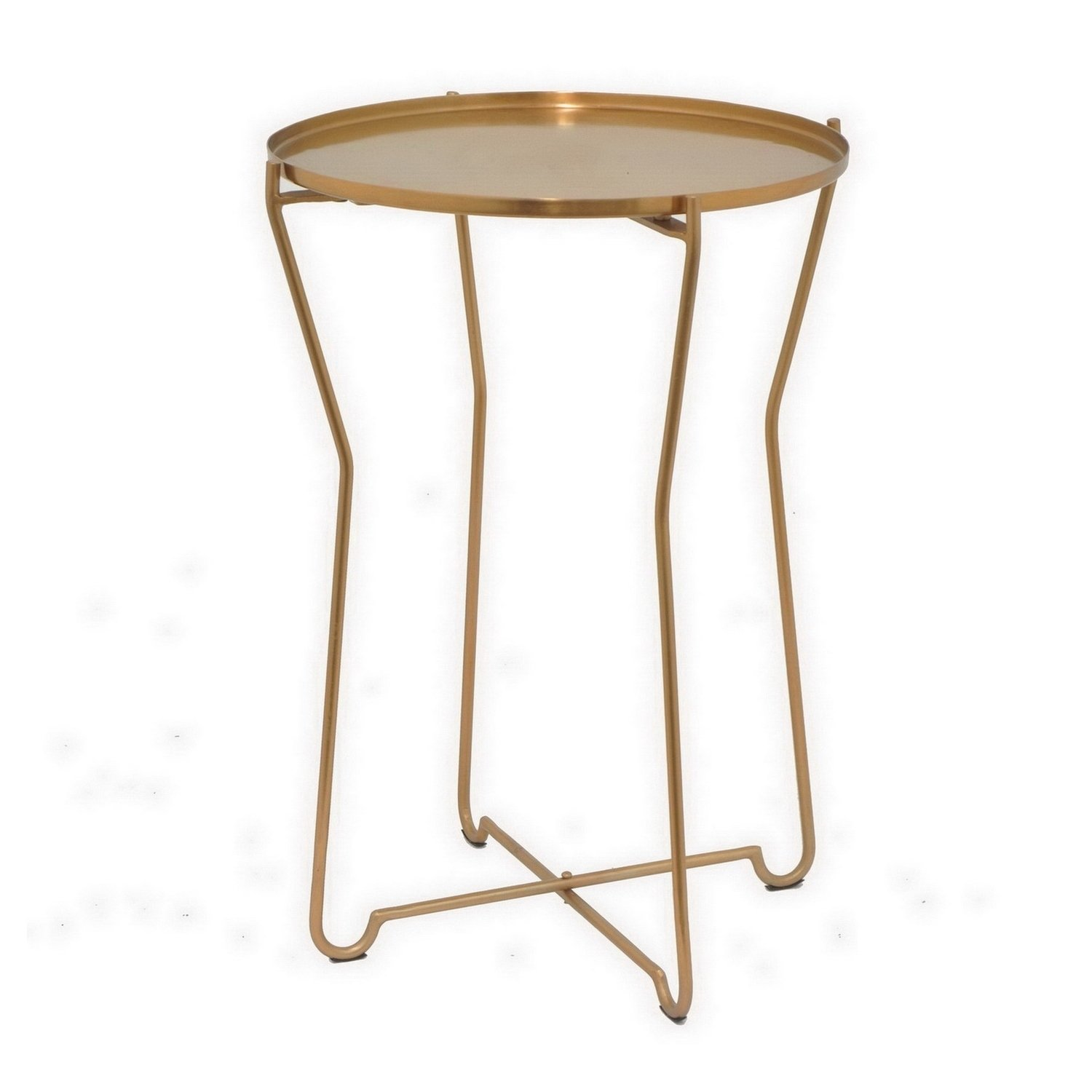 three hands round metal accent table bronze free shipping tables today small marble coffee upcycled patio sun shades pottery barn glass console modern top hooker end winchester