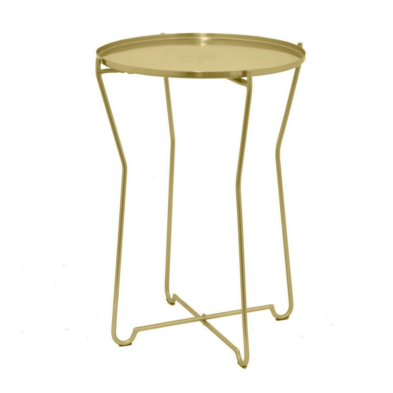 three hands round metal accent table gold free shipping today outdoor bar set white marble side meyda tiffany lamp bases ideas coffee tables melbourne lucite stacking dinner sofa
