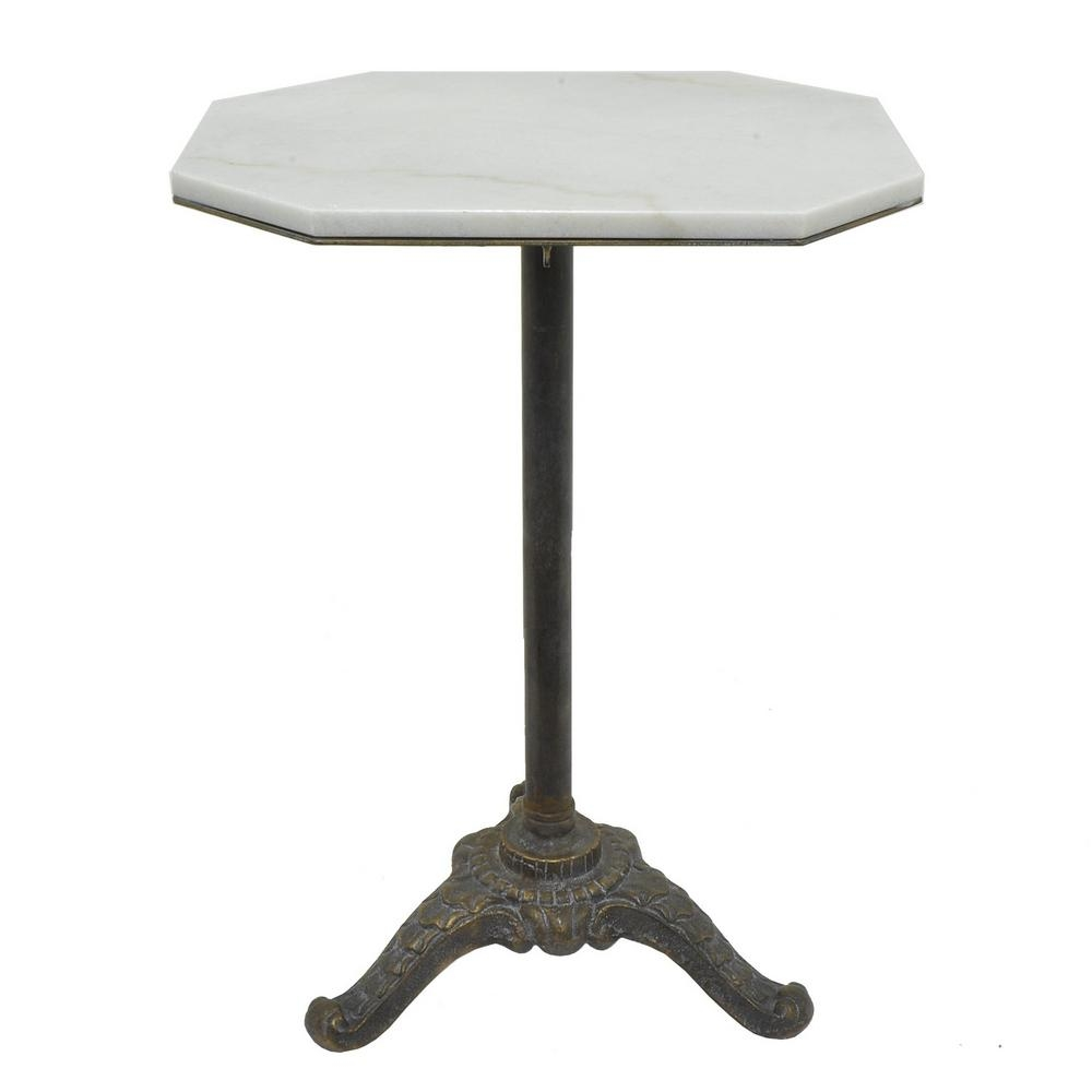 three hands white metal marble top accent table the regarding plan gold coffee fabulous bedside glass with ideas dining bench legs small square end side chandelier cover set