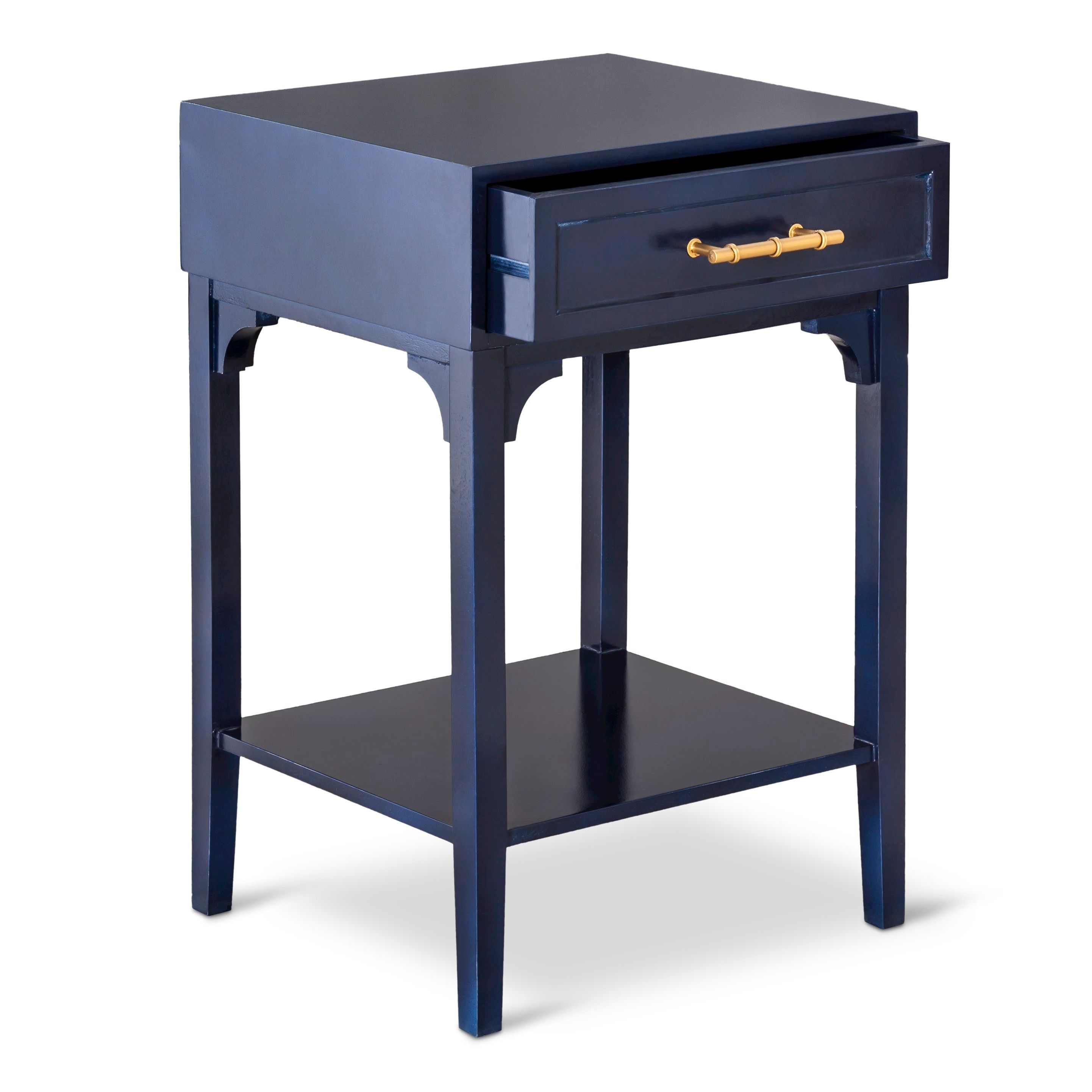 threshold accent table with bamboo motif handle target loft gold center black steel coffee glass bedside cabinets next half moon wall oval teak extra long runners circular outdoor