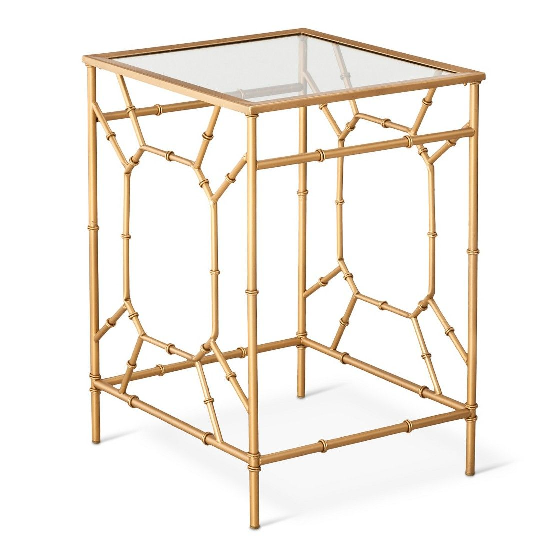 threshold bamboo motif accent table gold apartment livin narrow outdoor piece and chairs chairside with drawers upcycled west elm wall desk square drinking glasses battery powered