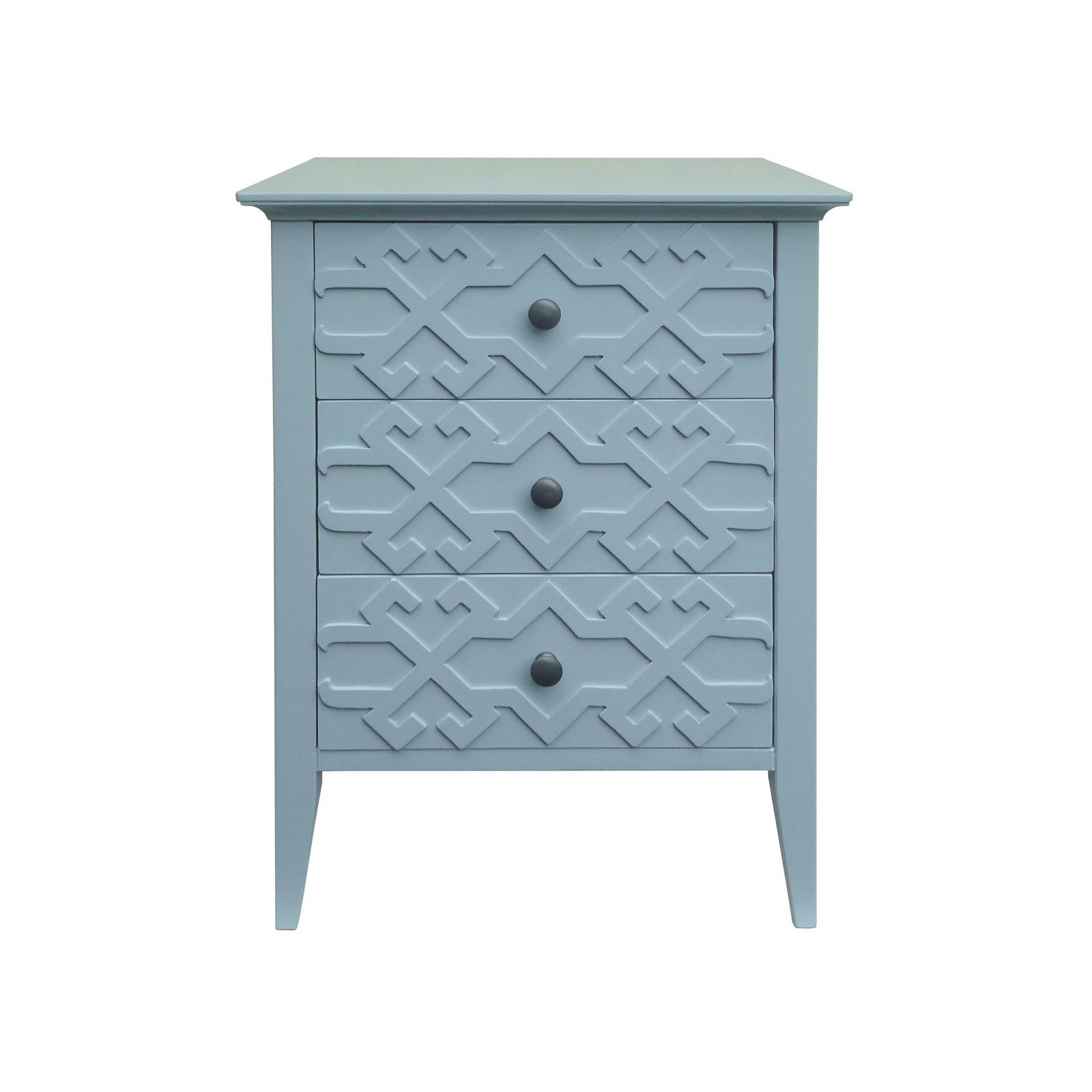 threshold fretwork accent viva saffron table teal solid wood coffee with drawers furniture covers pottery barn high garden chairs bar height legs mirrored victorian hall console