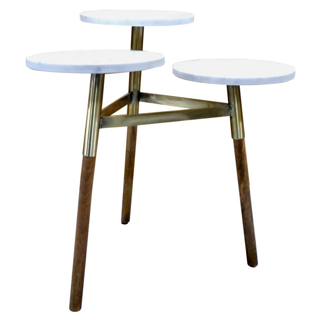 threshold tiered accent table originally target cast metal nate berkus ashley furniture wesling coffee turquoise broyhill end tables round industrial comfortable patio chairs
