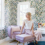 tic glam bedroom makeover with opalhouse target emily henderson vintage inspired purple chair side table accent lamps for threshold lamp modern battery operated distressed blue 150x150