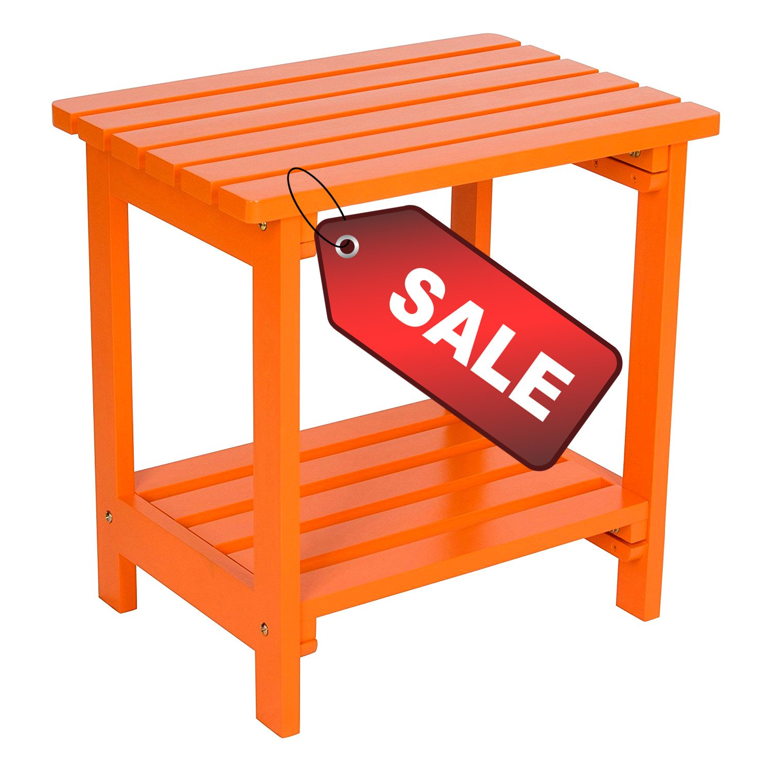tier patio table small side square outdoor orange wooden water weather rust resistant stylish indoor furniture ebook lounge chairs bunnings console living room end tables setting