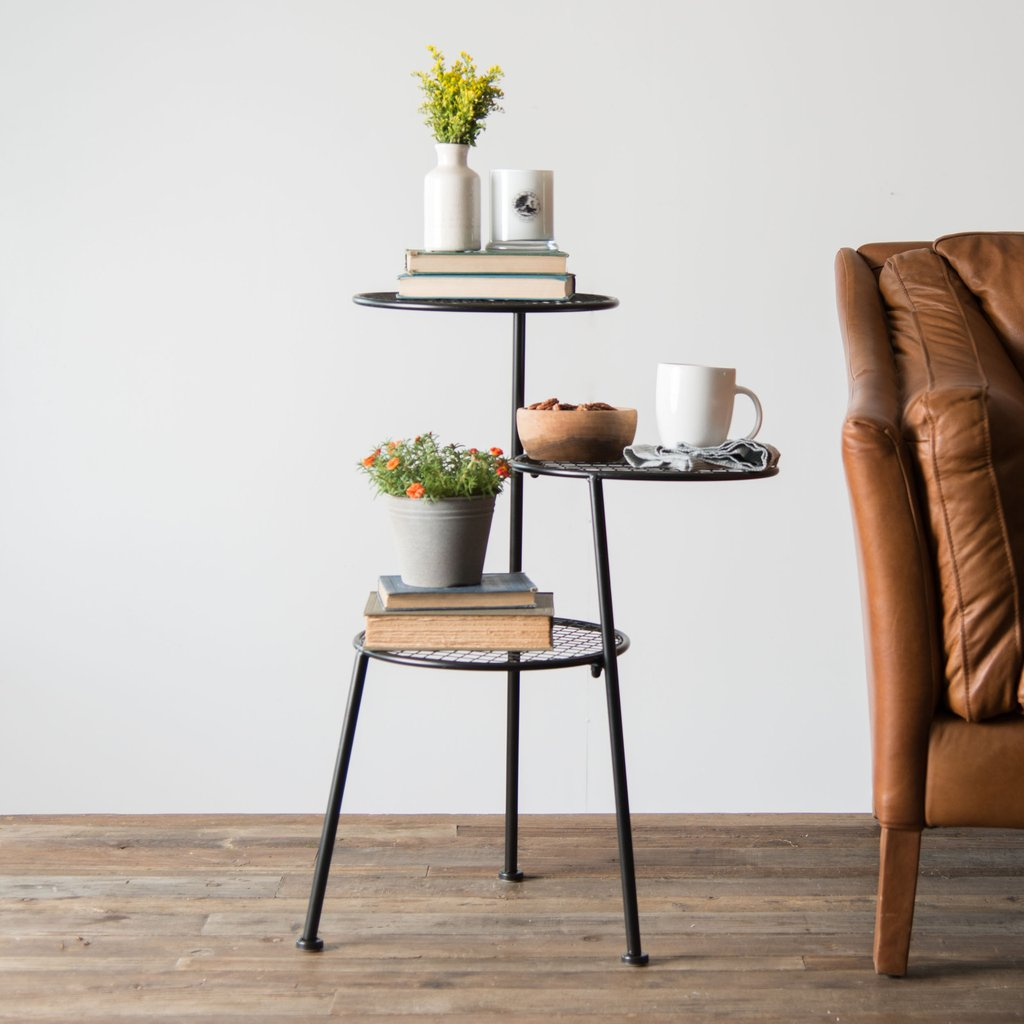 tiered metal accent table magnolia chip joanna gaines product razer ouroboros gaming mouse free coffee marble tops beverage tub with stand vintage scandinavian chair ashley