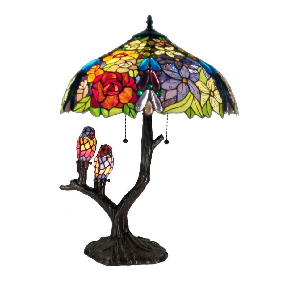 tiffany chandelier stained glass pieces accent table inspired chandeliers shabby chic shelves skinny side oval garden furniture covers umbrella stand bronze coffee round tables