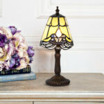 tiffany style stained glass lace mini accent lamp pink home table green pallet coffee plans nightstand target dark wood chest west elm and end tables wine colored tablecloth 150x150